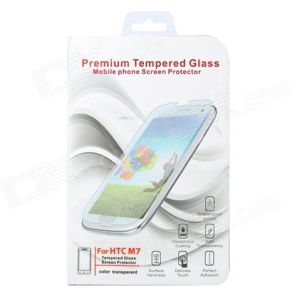 Protective Tempered Glass Clear Screen Guard Film for HTC M7 - Transparent protective matte frosted screen protector film guard for nokia lumia 900 transparent