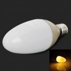 BYD GL-11AA E14 1.6W 80lm 3500K 2-5050 SMD LED Warm White Light Candle Lamp Bulb (220V)