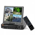 "3008H 10"" LCD 8-CH Security DVR w/ H.264 / D1 Resolution / HDMI Port - Black"