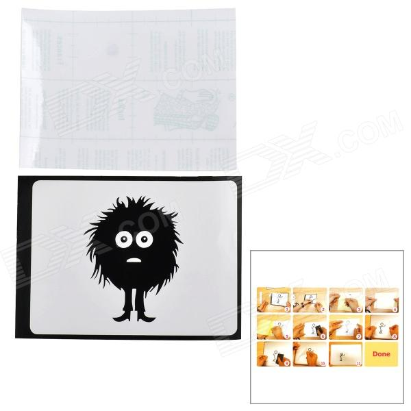 Mess Hair Kid Pattern 3M Sticker Set for Apple MacBook 11