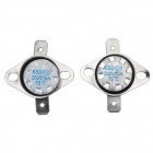 YaoSheng YS9 10A 250V Thermostats - Silver + Black (2 PCS)