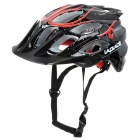 LAPLACE Q3 Outdoor Bicycling Helmet - Black + Red + White (52~60cm)