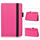 "Protective PU Leather Case for Microsoft Surface RT 10.6"" - Deep Pink"