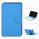 "80-Key USB Wired Keyboard Cover Case w/ Stand for 7"" tablet PC - Blue"