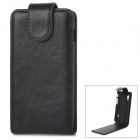 Stylish Protective PU Leather + Plastic Case for LG Optimus L5 II - Black