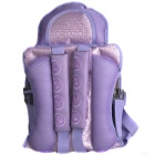 SQ001 Multifunctional Car Safety Harness Seat Cover Cushion for Kids - Purple