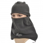 Departure 2012005 Outdoor Fleeces Warm Face Mask / Hat / Scarf for Men - Deep Grey