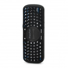 iPazzPort KP-810-09 Mini 2.4GHz 83-Key Wireless  Keyboard - Black (2 x AAA)