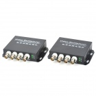 E-4V 20Km Single-Mode Single Fiber 4-CH Digital Video Optical Multiplexer