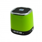 DG-620 2-Channel Bluetooth v2.1 Stereo Speaker w/ Microphone for Iphone 4S - Green + Black