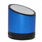 Mikasso N6 Stylish Bluetooth v3.0 Speaker w/ Microphone / TF for Iphone / Samsung - Blue