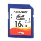 KINGMAX SDHC Pro High Speed Camera SDHC Memory Card - Blue + White + Orange (16GB / Class 10)