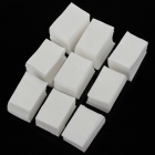 High Quality Soft Washing Nail Cotton Pad - White (650 PCS)