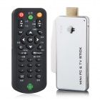 FX6 (CX-919)  Quad-Core Android 4.2.2 Mini PC & TV Stick w/ 2GB RAM, 8GB ROM, OTG - White + Silver