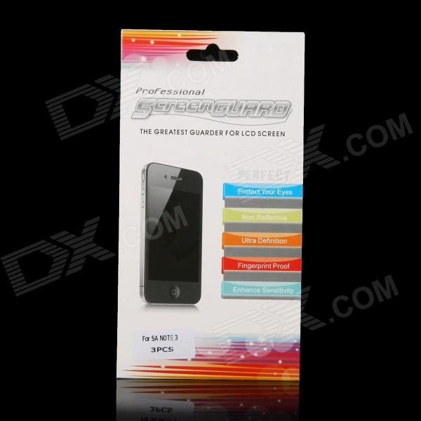 все цены на Protective Clear Screen Protector Film Guard for Samsung Galaxy Note 3 - Transparent (3 PCS)
