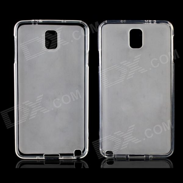 Stylish Protective TPU Back Case for Samsung Galaxy Note3 - Translucent White стоимость
