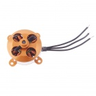 XXD A2204 1450KV Outrunner Brushless Motor - Golden + Silver + Black