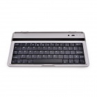 Bluetooth V3.0 61-Key Wireless Keyboard for Asus Google Nexus 7 2 - Black + Silver