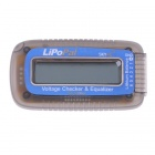 Skyrc LiPoPal 2-6s Lipo Battery Voltage Checker Equilizer Voltage Indicator Selbst Voltage Balancer