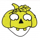 PDMF-RTMJ Funny Buckteeth Mask Prop for Halloween Cosplay - Yellow