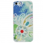 Colorfilm Bohemia Style Embossed Protective Plastic Back Case for Iphone 5 - Multicolored