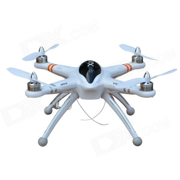 Walkera QR X350 5-CH One Key Go Home R/C Quadcopter w/ GPS Altitude Hold System BNF - White