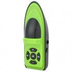 Cute Yacht Style Portable MP3 Player w/ TF - Green + Black