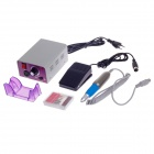 Fina MM-25000 Manicure Pedicure Set - Grey + Purple (EU Plug / 110~220V / Cable-139cm)