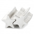 Star Shaped N33 NdFeB Powerful Magnets - Silver (50 PCS)