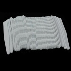 Nail Polish Stick Strips - Grey White (50 PCS)