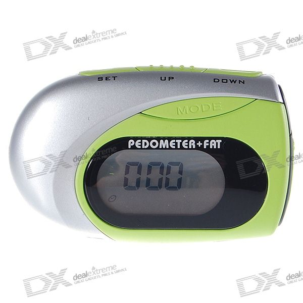 Mini Digital Pedometer with Body Fat Analyser