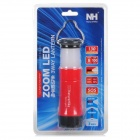 Naturehike Multifunction LED Zooming Camping Lantern - Red + Black