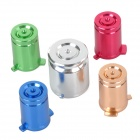 PROJECT DESIGN Replacement Aluminium Buttons for Xbox 360 - Red + Silver + Green + Golden + Blue