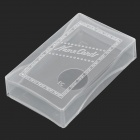 Plastic Name Card Holder Box - Transparent