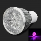 5w 59lm GU10 Red + Blue Light LED Plant Growing Lamp - Silver + White