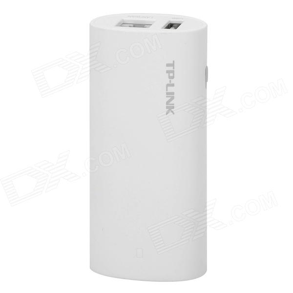 TP-LINK TL-WR10U Portable 150Mbps 3G Wireless Router 2600mAh Power Bank for Phone +Tablet PC - White