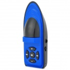 Cute Yacht Style Portable MP3 Player w/ TF - Blue + Black