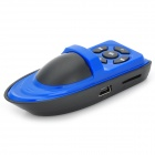Lindo yate Style Portable MP3 Player w / TF - Azul + Negro