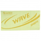 Wave TW-6 Sport Microfiber Quick Dry Beach Towel - Yellow