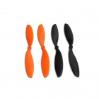 Walkera Hoten X-Z-01 Propellers for Hoten X R/C Quadcopter - Yellow + Black (4 PCS)