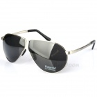 Reedoon 8480 Folding Pocket Fashionable Driving Polarized UV400 Protection Men's Sunglasses - Silver