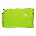 B099 Auto Inflatable Camping Moisture Protection Cushion Seat Pad - Green