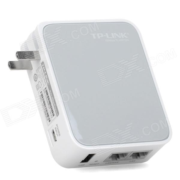 TP-LINK TL-WR720N 150Mbps Wi-Fi 3G Wireless Router - Light Grey + White wi fi роутер tp link td w8961n