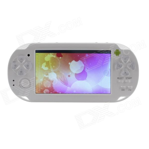 ESER YXJ-03 4.3 Android4.0 Smart = PSP Game Console w - WiFi - HDMI - Dual Camera - Wit