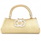 Luxurious Evening Bag Handbag for Party and Wedding - Golden