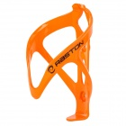 RASTON Bicycle Carbon Plastic Water Bottle Holder Cage - Orange