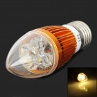 TB-LZD-04-4W-NBG E27 4W 160lm 3500K Warm White Light Candle Style Light Bulb - Golden