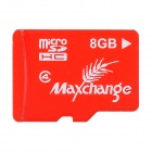 MAXCHANGE Micro SD / TF Memory Card - Red + White (8GB / Class 4)