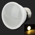 TB-PJA-DB-E27-NBG-01 E27 2835 3W 80lm 3500K 10-LED Warm White Light Bulb - White