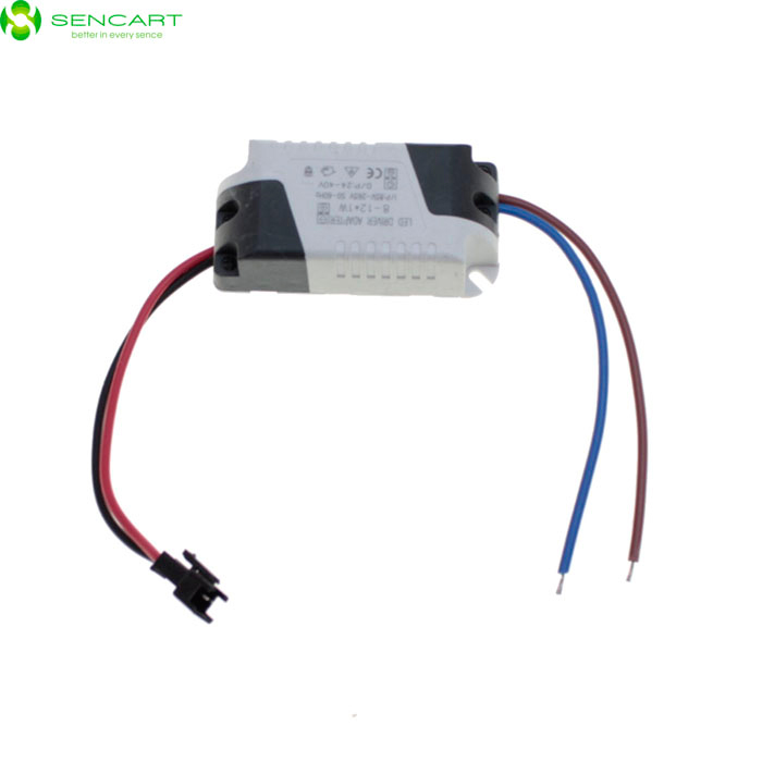 SENCART 9W 300mA Constant Current LED Driver - White (DC 18~36V / AC 90~260V) 90w led driver dc40v 2 7a high power led driver for flood light street light ip65 constant current drive power supply